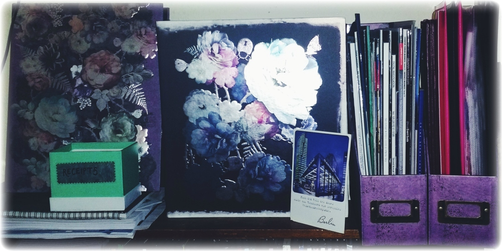 Mystic Rose stationery from Paperchase